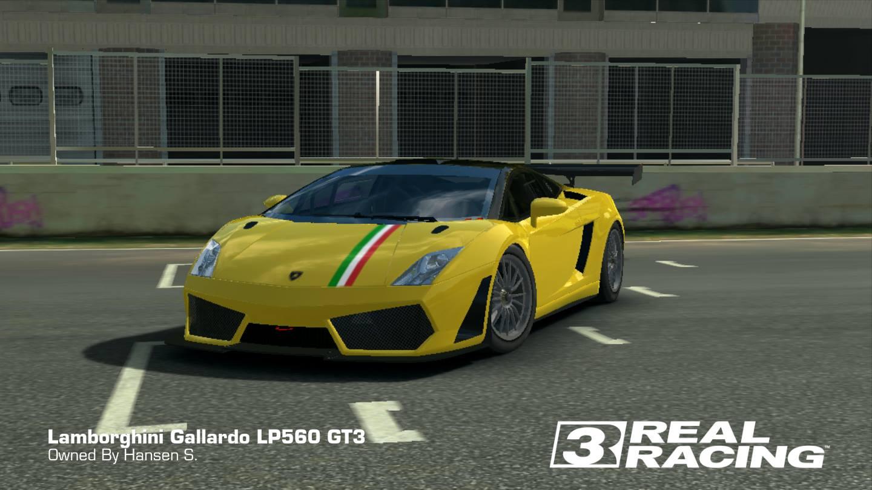 Gallardo LP560 GT3 Bicolore Tricolore