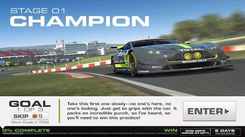 RR3 Balance Of Power Stage 1 Goal 1 No Upgrades Real Racing 3