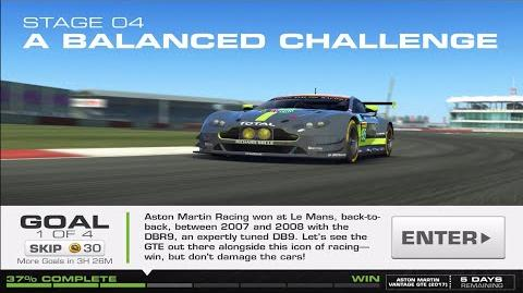 RR3 Balance Of Power Stage 4 Goal 1 Upgrades 1110100 Real Racing 3