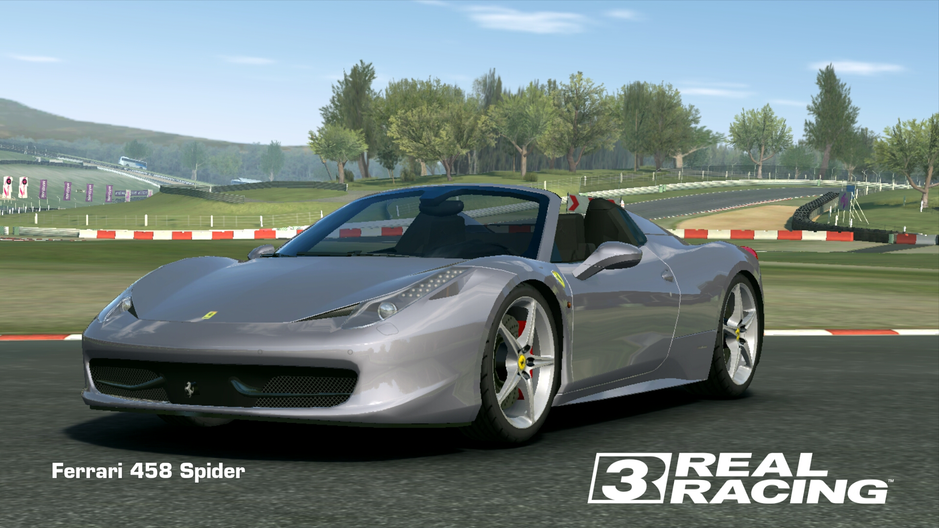 Showcase Ferrari 458 Spider