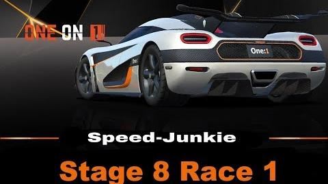 ONE on 1 Stage 8 Race 1 only R$ Upgrades