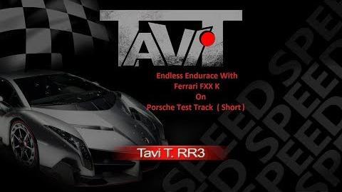 Real Racing 3 RR3 Endless Endurance Bug On Porsche Test Track ( Short ) With Ferrari FXX K