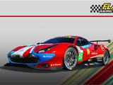 Ferrari 488 GTE Evo (AF Corse) Championship (v8.5)