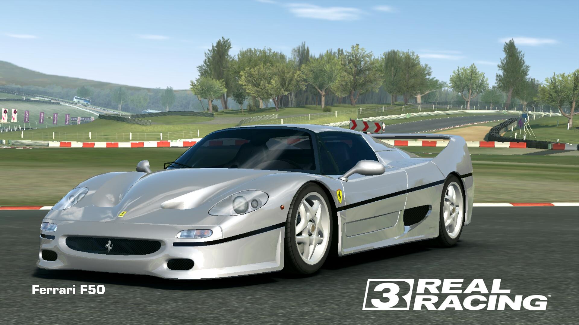 Showcase Ferrari F50