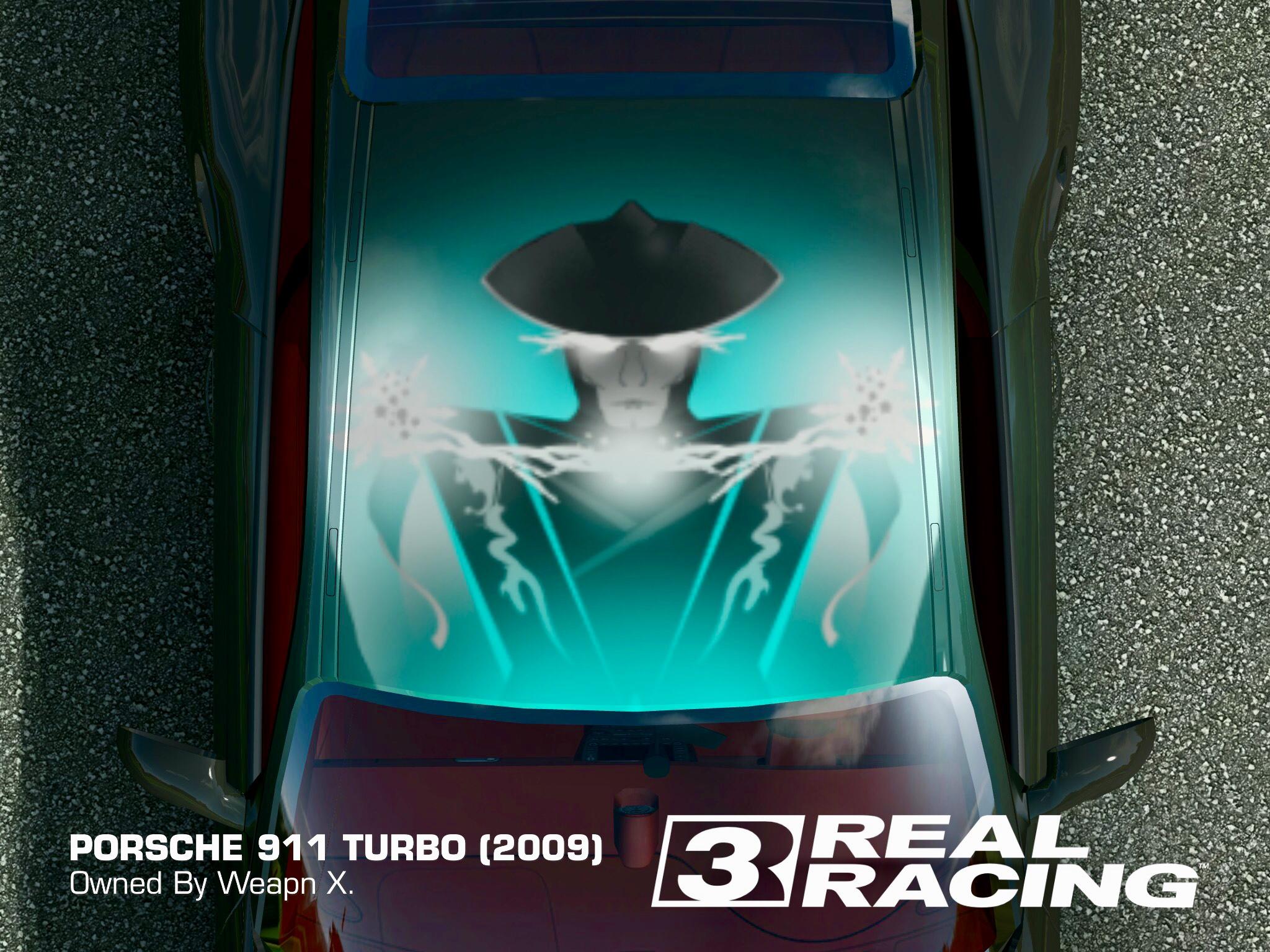 Livery Porsche Gt Carrera Rr3 .Png Custom Sticker