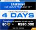 Series Samsung Championship