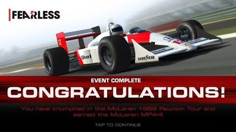 Fearless, Stage 8 Race 5, Won Car with 3331313 Upgrade