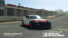 Porsche GT Racing Team No. 52 Cayman GT4