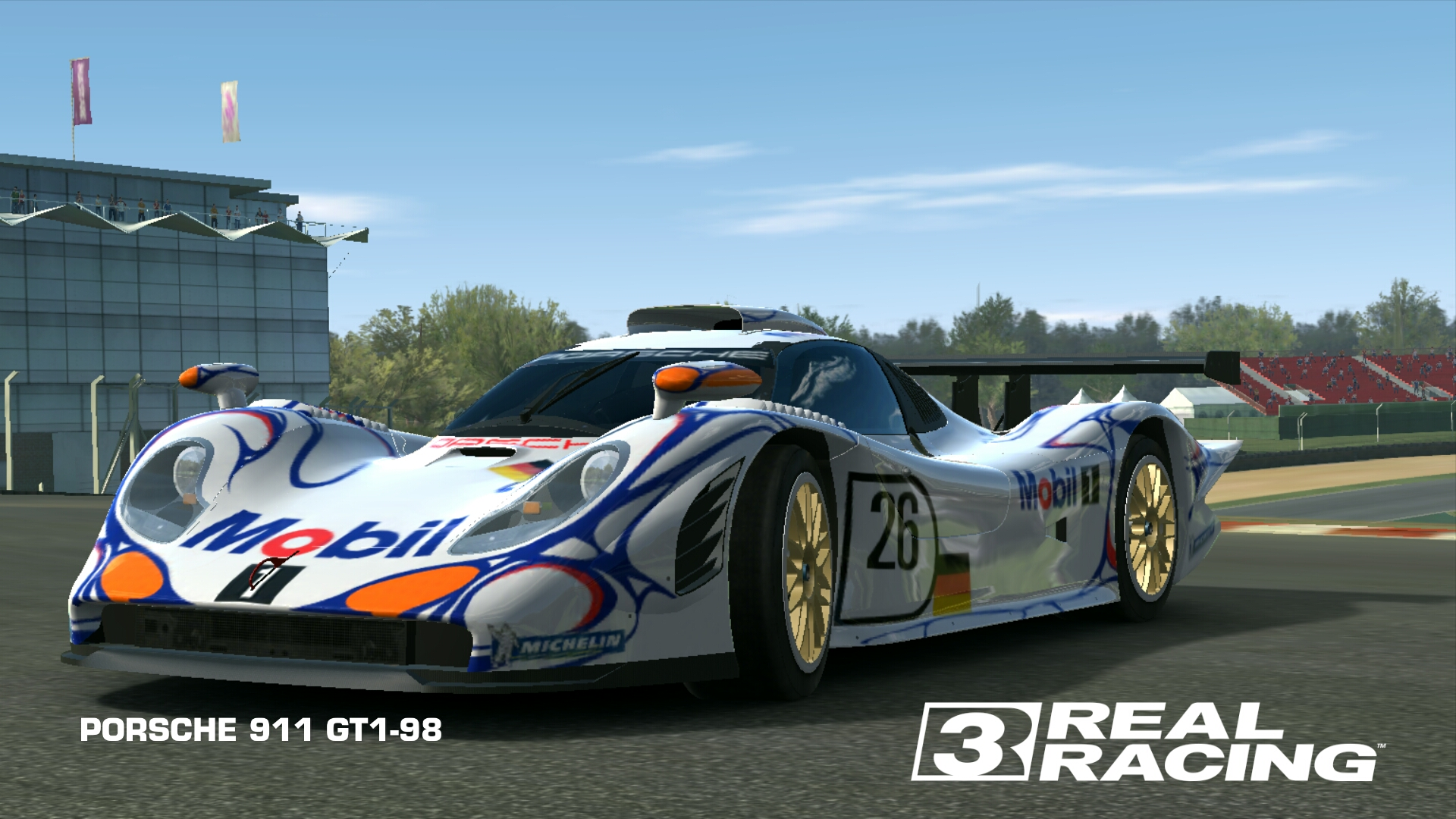 porsche 911 gt1 98 real racing 3 wiki fandom powered by wikia. Black Bedroom Furniture Sets. Home Design Ideas