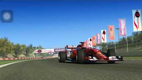Real Racing 3 - Team Events - Autocross - Ferrari F14 T
