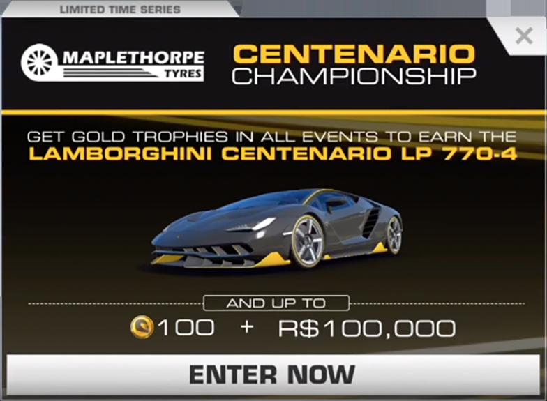 Lamborghini Centenario Championship Real Racing 3 Wiki Fandom