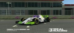 F1 Academy Buzz Lightyear Car