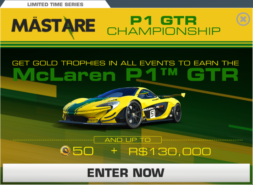 mclaren p1 gtr championship | real racing 3 wiki | fandom powered