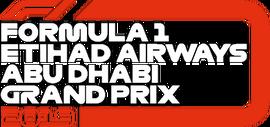 FORMULA 1 ETIHAD AIRWAYS ABU DHABI GRAND PRIX 2019 flag