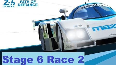 Path of Defiance Stage 6 Race 2 (1-1-3-2-3-2-1)