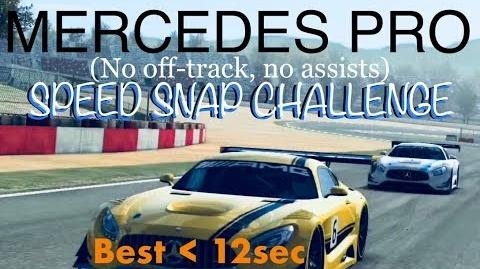 Real Racing 3 RR3 Mercedes Pro Speed Snap Challenge Best Races For Each Car
