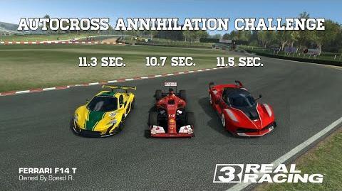 Real Racing 3 Autocross Annihilation Challenge 3 Best Races (Best 10.7 Sec