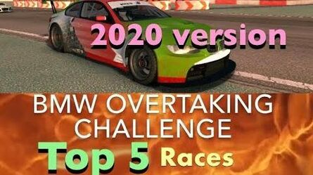 Real Racing 3 RR3 BMW Overtaking Challenge Top 5 Races (2020)-0