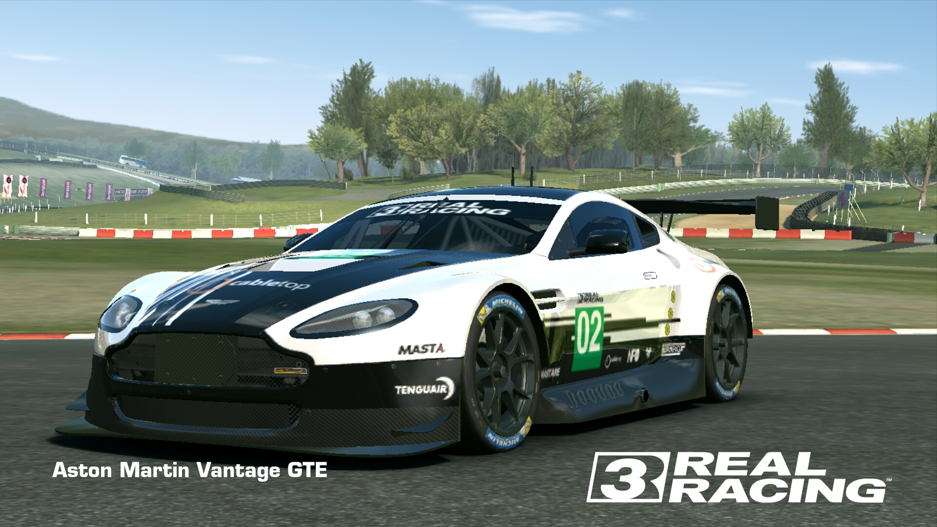 Showcase Aston Martin Vantage GTE