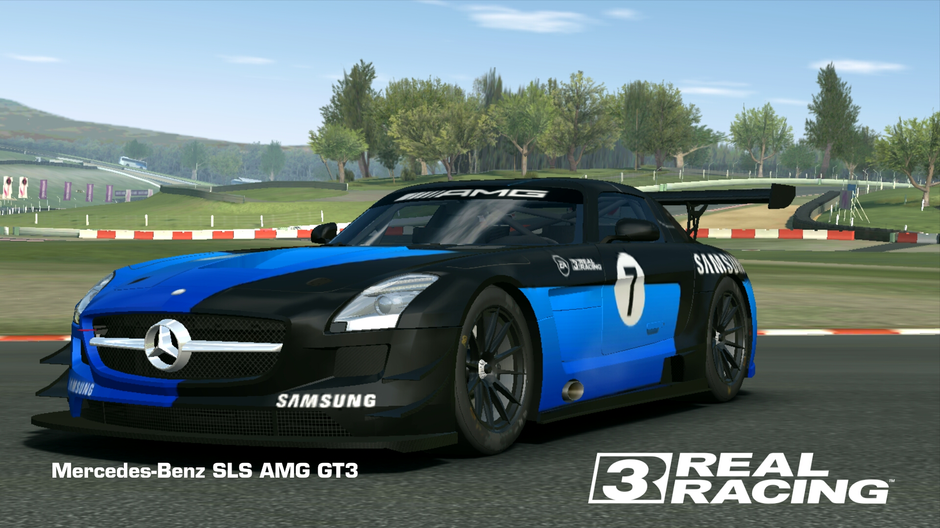 Showcase Mercedes-Benz SLS AMG GT3