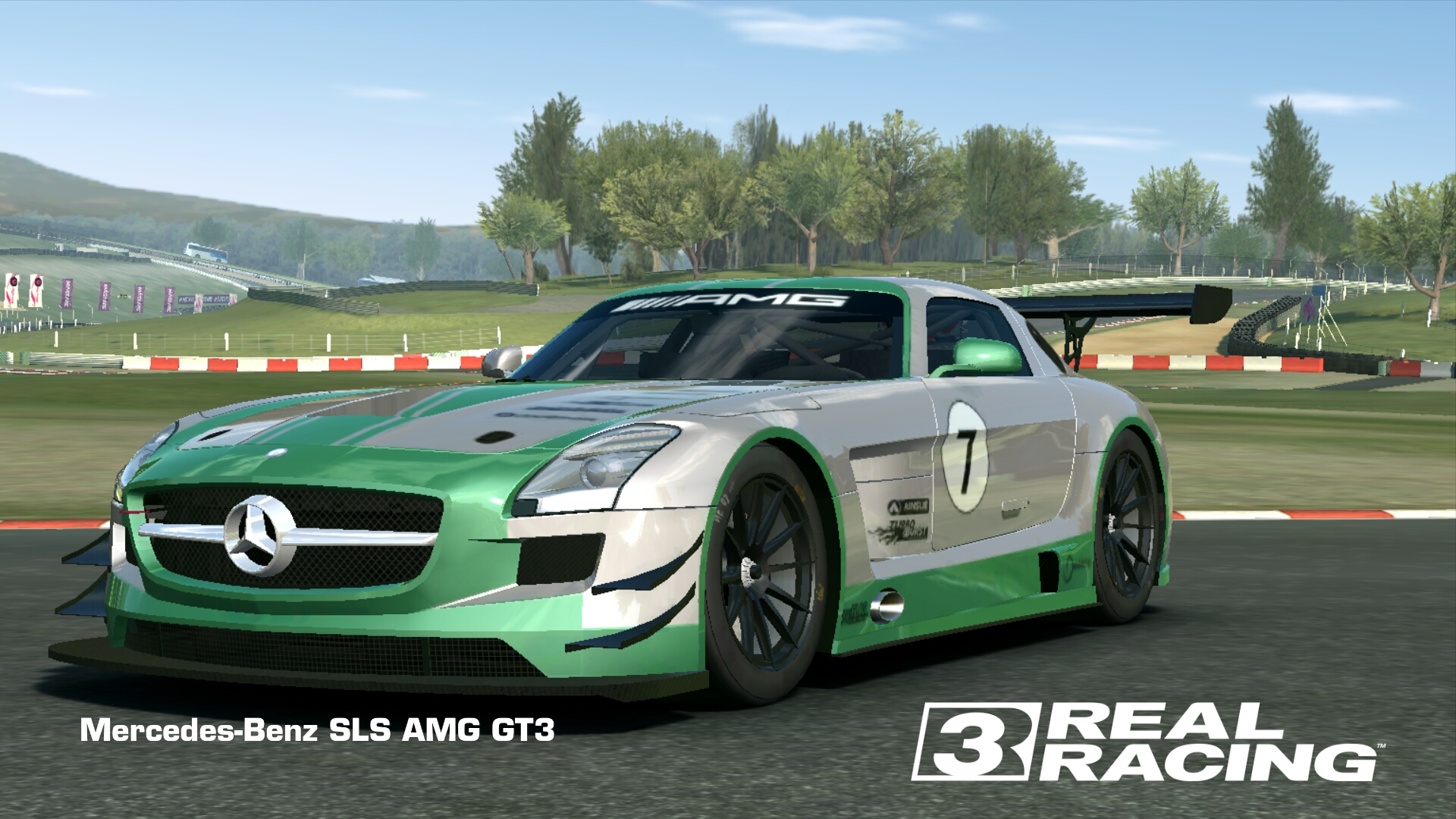 Showcase Mercedes-Benz SLS AMG GT3