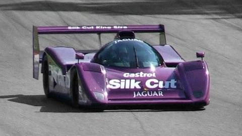 1991 Jaguar XJR-14 Group C Sound - Accelerations, Fly Bys & Downshifts