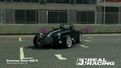 Caterham Seven Custom Stripes