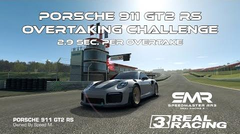 Real Racing 3 Porsche 911 GT2 RS Overtaking Challenge 2