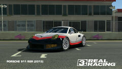 2013 911 RSR with 2017 911 RSR Livery