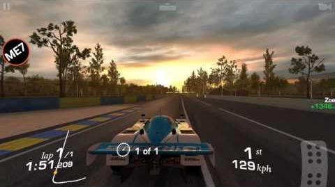 ME7/Farm Le Mans races flat out