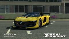 Renault Sport RS01 Black Top