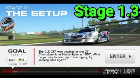 Silver Tourer Event; Stage 1.3; no upgrades..