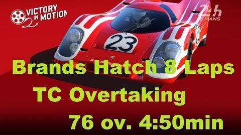 Porsche 917K Overtaking 76 4 50min 8 Laps Brands Hatch Tier 5