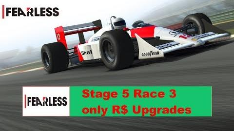 Fearless Stage 5 Race 3 only R$ Upgrades!! 1111111