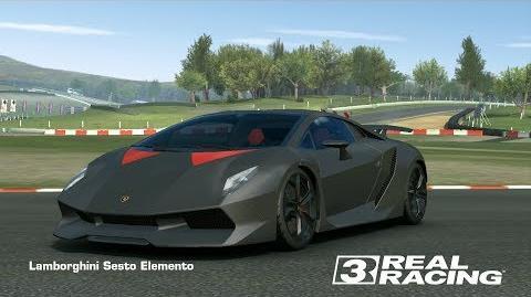 Real Racing 3 - Team Event - Pro Speed Snap - Lamborghini Sesto Elemento