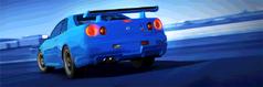 Series NISSAN SKYLINE GT-R V-spec (R34) (Exclusive Series)