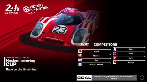 Victory in Motion, Stage 5 Race 3, using Porsche 911 GT1-98