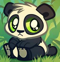 Baby panda bear cartoon panda cub by dragoart-d5f661b