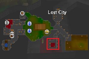 Xae'Kor on map