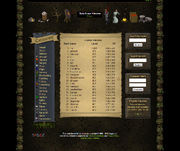 Pur, shown on the highscores as the first player of 2007scape with a total level of 1,000.