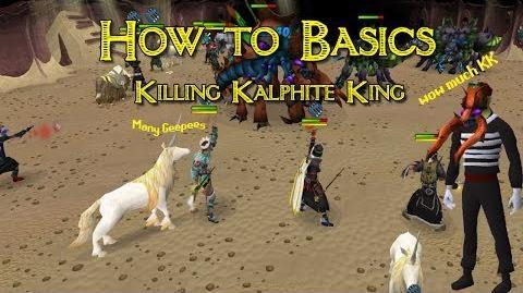 How to Basics Guide to Killing Kalphite King