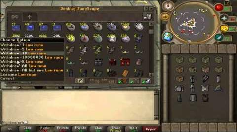 Runescape's NightmareRH's Full Bank Vid 4Bil Updates!!