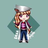Lisaa Character Art