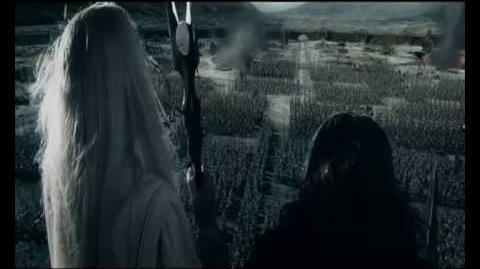 Saruman ''no dawn for men''