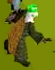 Durial321 is seen during the Falador Massacre equipped with a fire cape, a green partyhat, and the Toktz-ket-xil shield.