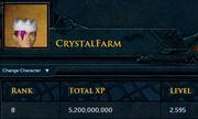 CrystalFarm Rank8 Overall