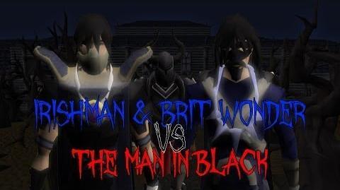 Irishman and the Brit Wonder vs the Man in Black!