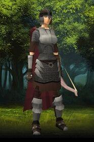 Anya's guard outfit