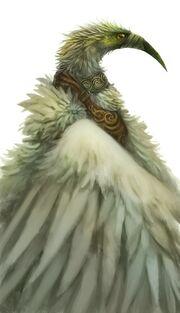 500x870 10497 Bird Man 2d character bird fantasy picture image digital art