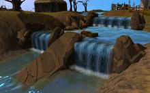 Baxtorian Falls river